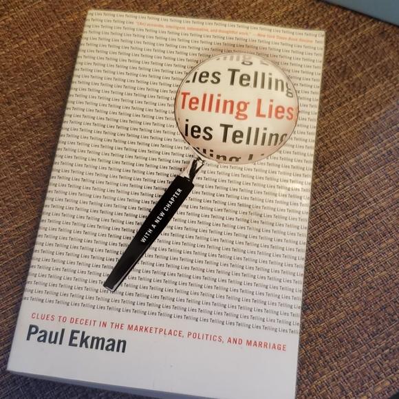 Telling Lies, Paul Ekman Novel